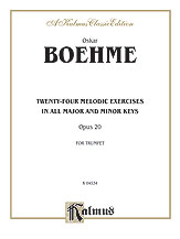 24 Melodic Exercises Op. 20-Trumpet