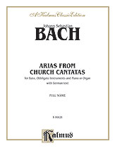 Bach: 12 Bass Arias from Church Cantatas