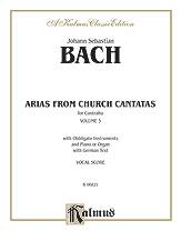Contralto Arias Vol 3-Sacred