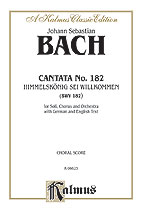 Cantata No. 182-Himmelskonig Sei W-Atb