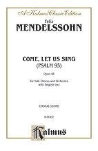 Psalm 95 O Come Let Us Sing-Voc Sc