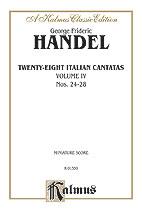 28 Italian Cantatas No. 4-St Sc