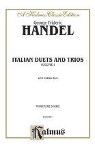 Italian Duets and Trios Vol 1