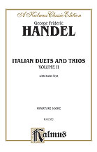 Italian Duets and Trios Vol 2