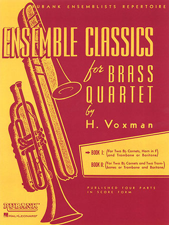 Ensemble Classics for Brass Quartet, Book 1