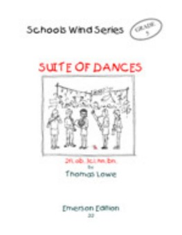 Suite of Dances-Woodwind Ensemble
