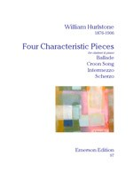 Four Characteristic Pieces-Clarinet