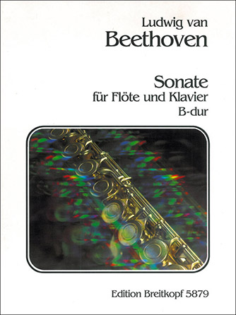 Sonata in B Flat-Flute Solo