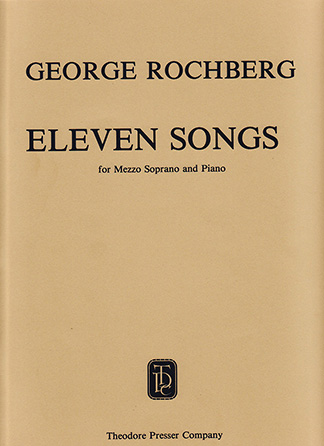 11 Songs-Mezzo Soprano
