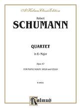 Quartet in E Flat Maj-Violin/Viola/Vc/Piano
