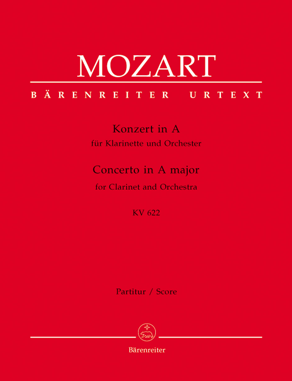 Clarinet Concerto in A Major