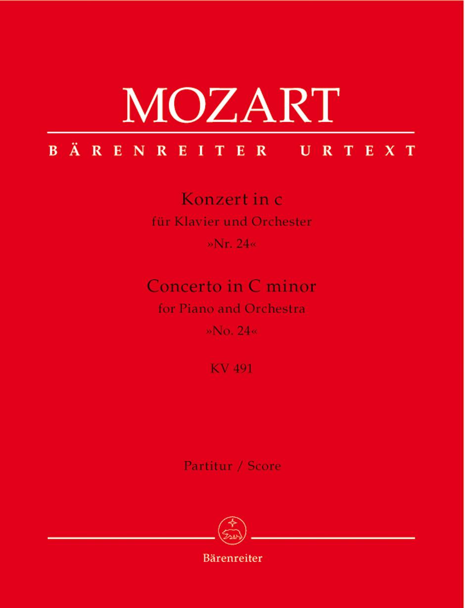 Piano Concerto No. 24 K. 491