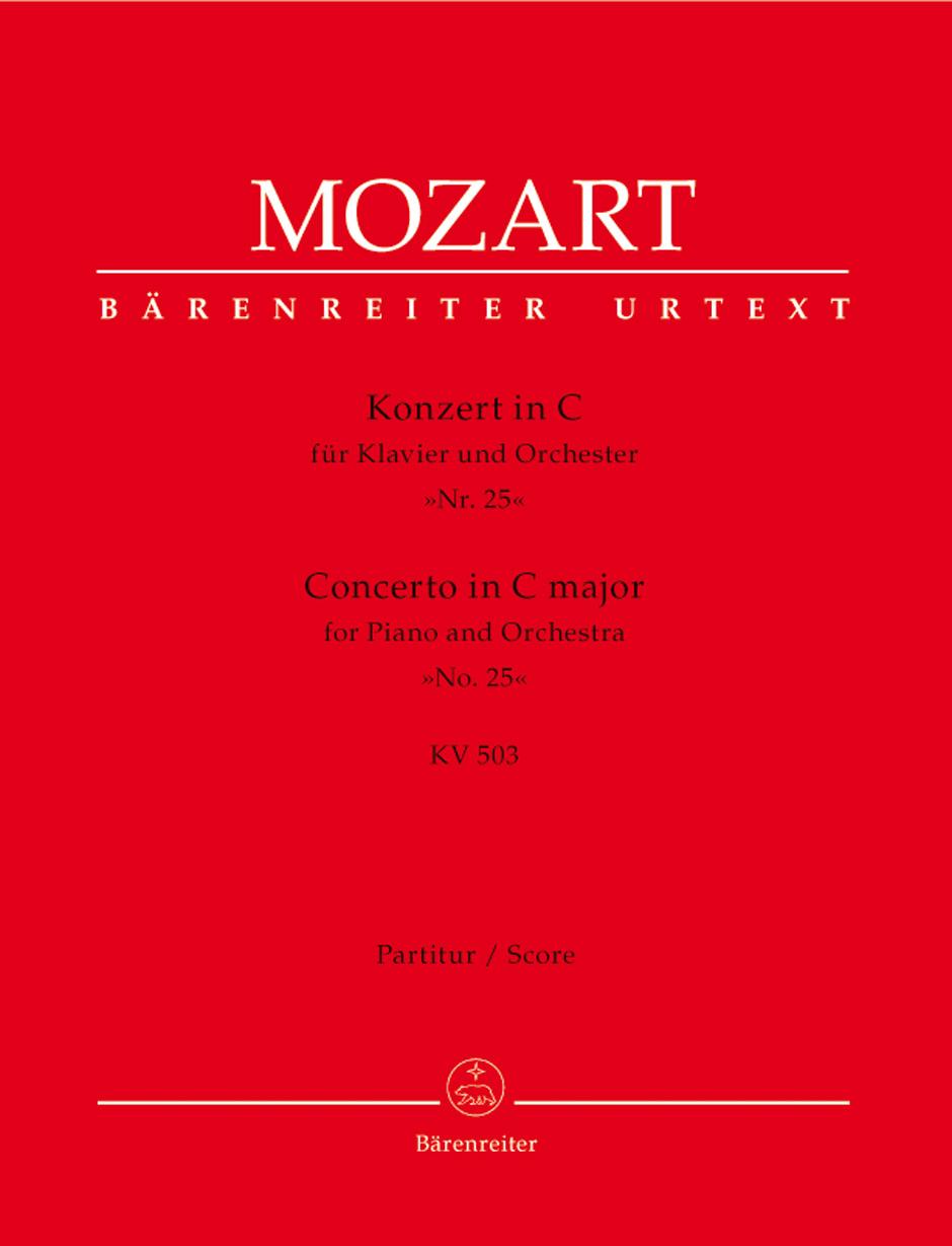 Piano Concerto No. 25 K. 503