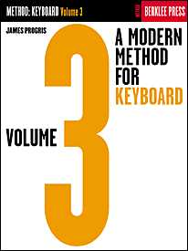 Modern Method Keyboard Study Vol 3