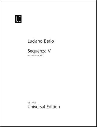 Sequenza No. 5-Trombone