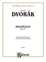 Bagatelles Op. 47-2 Violin/Vc/Piano/Ha