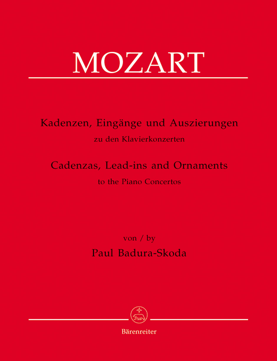 Cadenzas, Lead-Ins and Ornaments