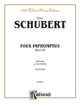 Four Impromptus, Op. 90