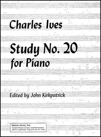 Study No. 20-Piano