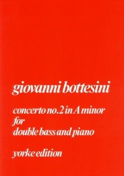 Concerto No. 2 in A Minor-String Bass