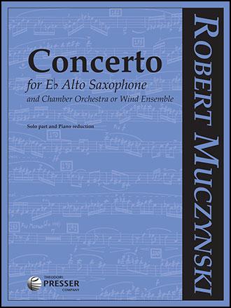 Concerto for Alto Sax and Chamber Orchestra
