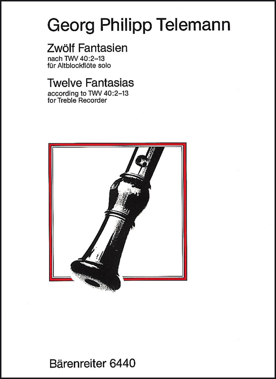 12 Fantasias Vol 40 No. 2-13