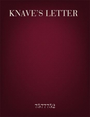 Knave's Letter