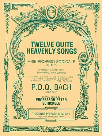 12 Quite Heavenly Song-Pdq Bach