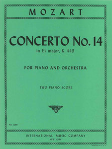 Concerto No. 14 in E Flat Major, K. 449