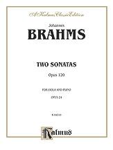 Two Sonatas for Viola/Piano 120
