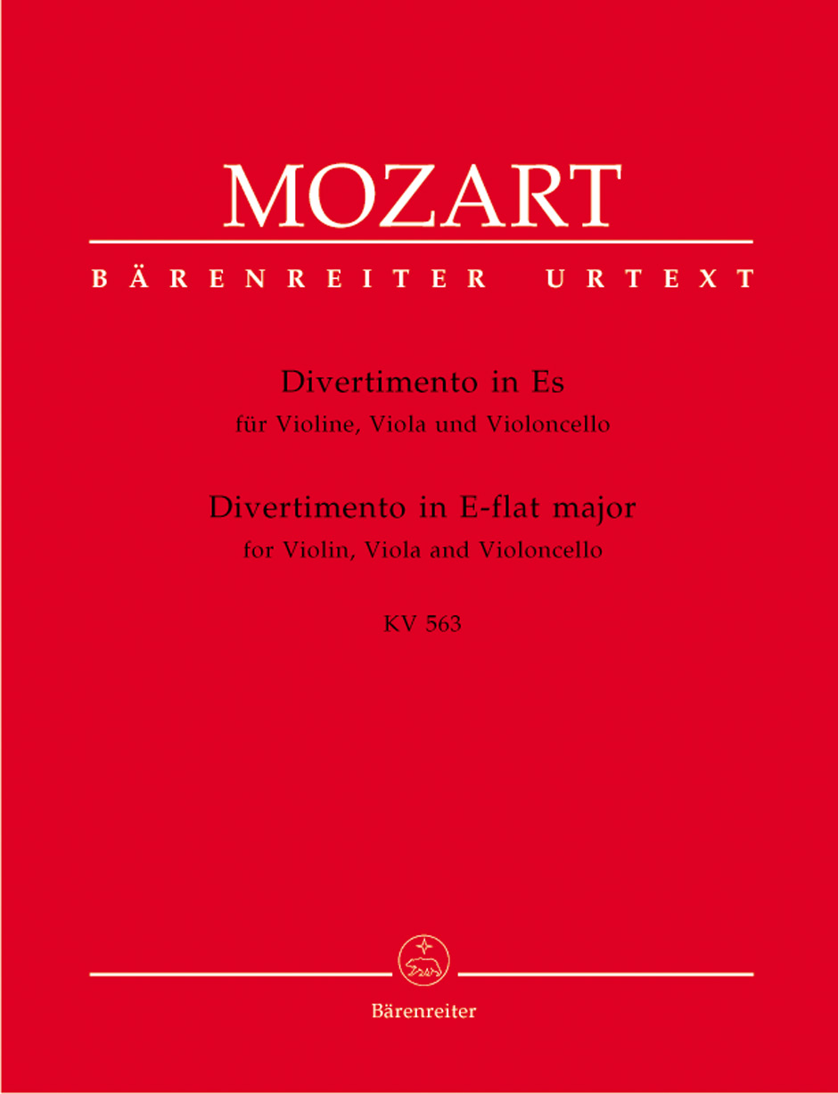 Divertimento in E Flat Major, K. 563