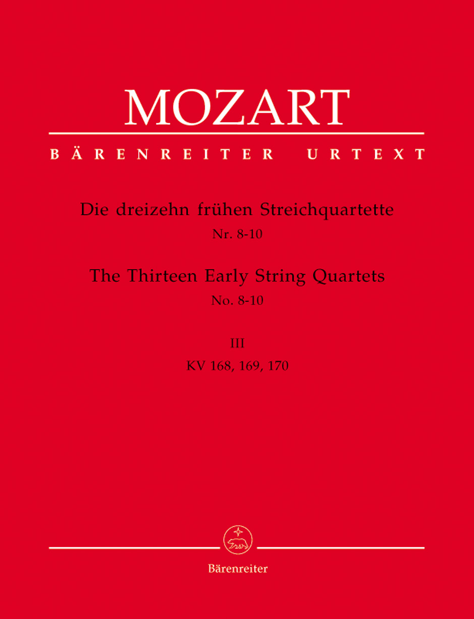 13 Early String Quartets, Vol. 3