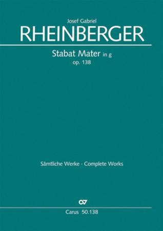 Stabat Mater Op. 138 in G Min-St Sc