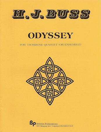 Odyssey-Trombone Quartet-Sc/Parts (Trombone   J W  Pepper