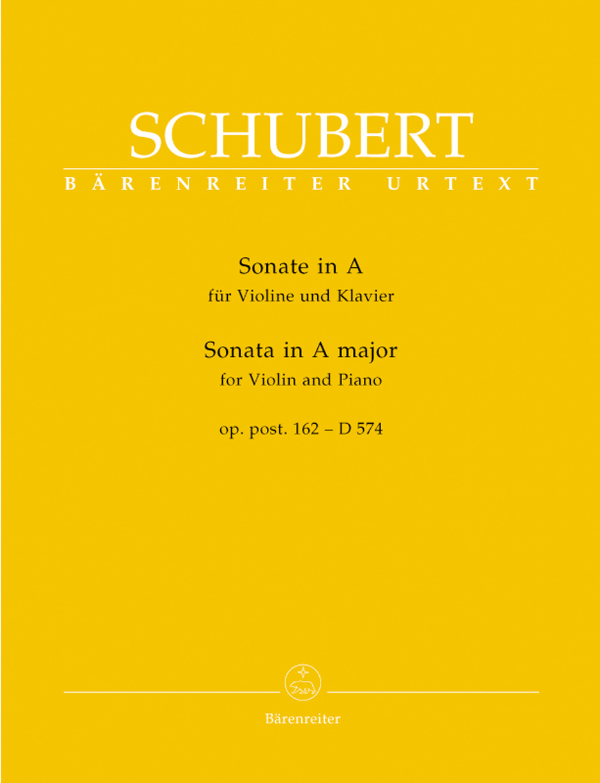 Sonata in A Major D574-Violin/Piano