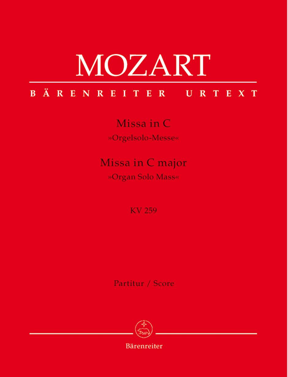 Missa in C Major K. 259-Study Score