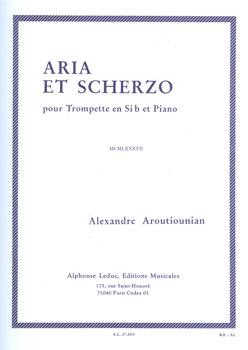 Aria et Scherzo