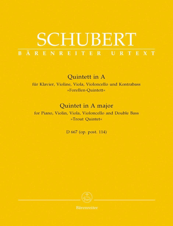 Quintet in A Major, Op. posth. 114, D. 667