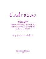 Cadenzas for Mozart Flute Concertos Nos. 1-2