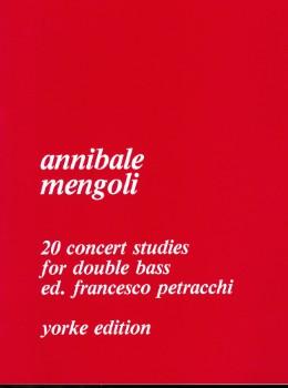 20 Concerto Studies-Double Bass