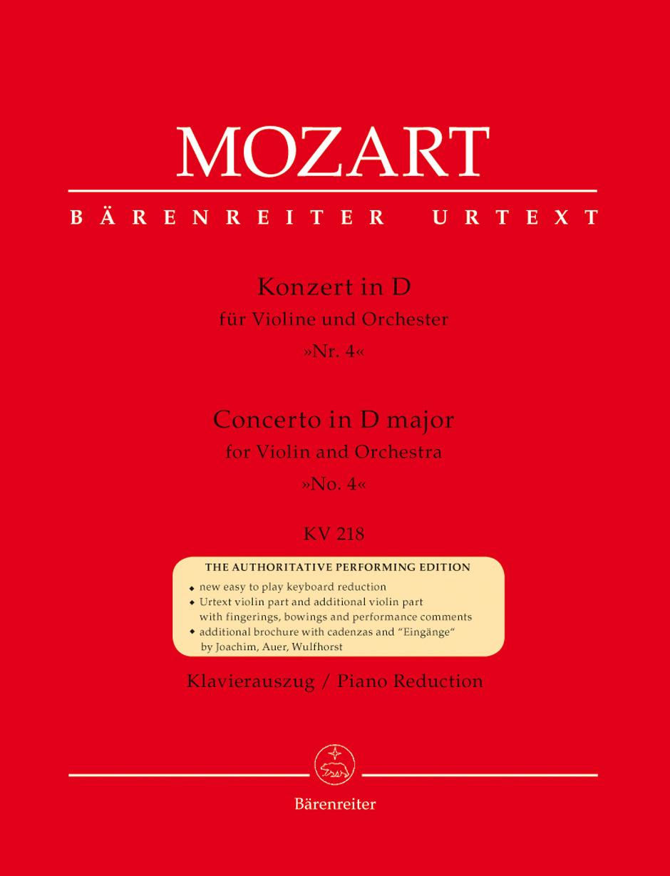 Concerto in D Major, K. 218