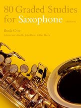 80 Graded Studies Book No. 1-Saxophone