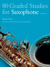80 Graded Studies Book No. 2-Saxophone