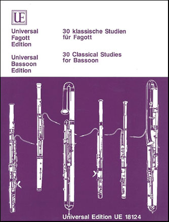 30 Classical Studies-Bassoon