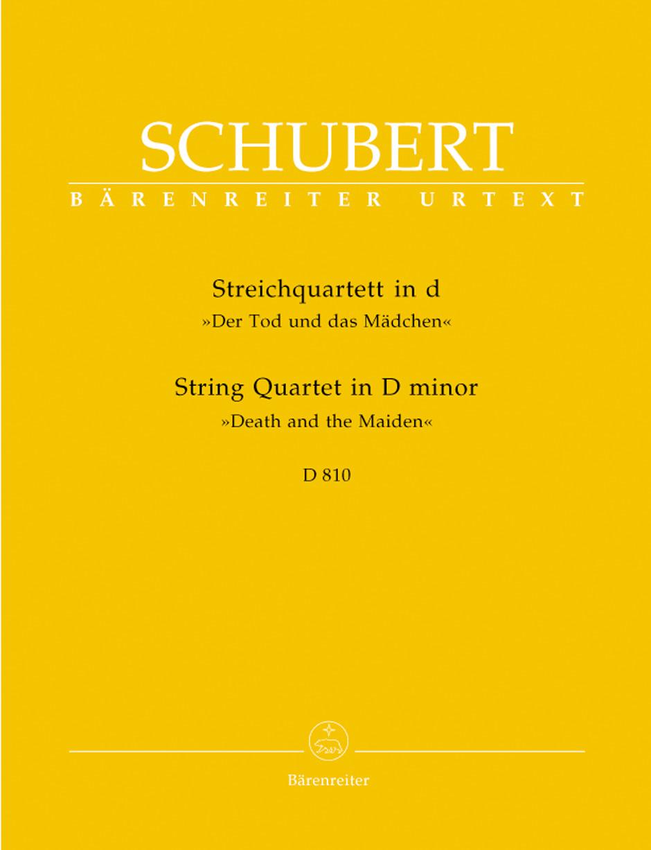 String Quartet in D Minor D810