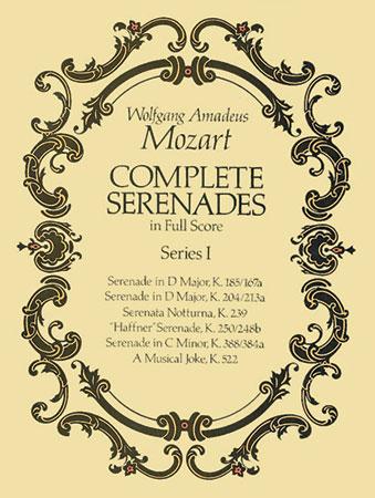 Complete Serenades Series No. 1