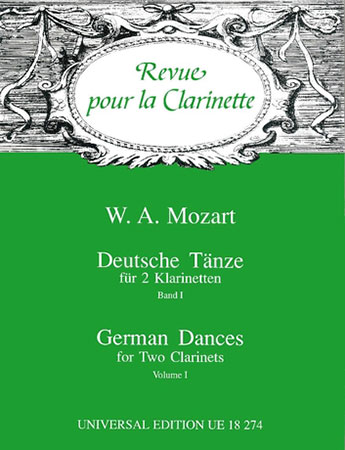 German Dances Vol 1-Clarinet Duet