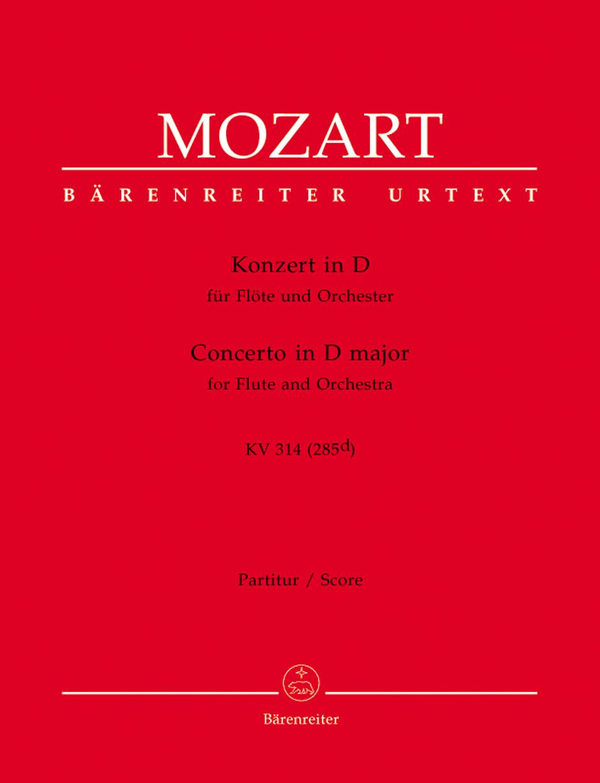 Flute Concerto in D Major-Score