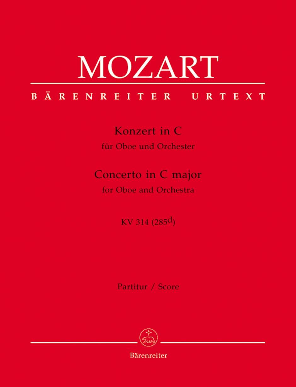 Oboe Concerto in C Kv314-Score