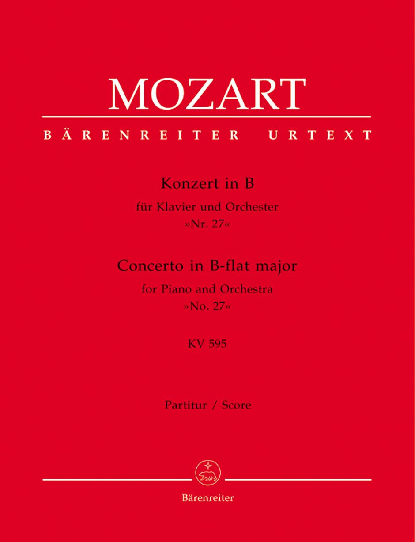 Concerto in B-flat Major, K. 595